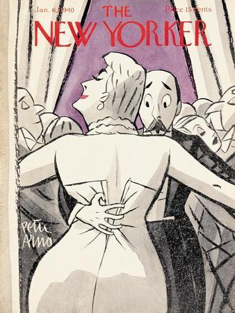 The New Yorker Cover - January 6, 1940