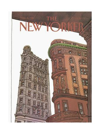 The New Yorker Cover - November 9, 1981