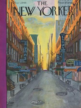 The New Yorker Cover - May 1, 1948