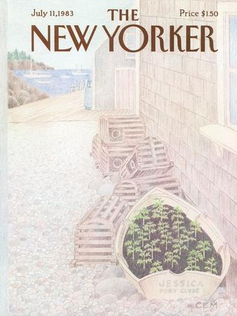 The New Yorker Cover - July 11, 1983