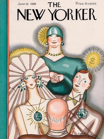 The New Yorker Cover - June 12, 1926