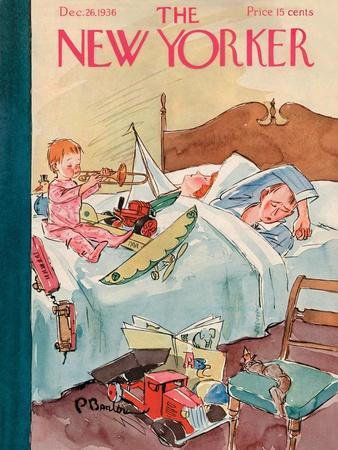 The New Yorker Cover - December 26, 1936