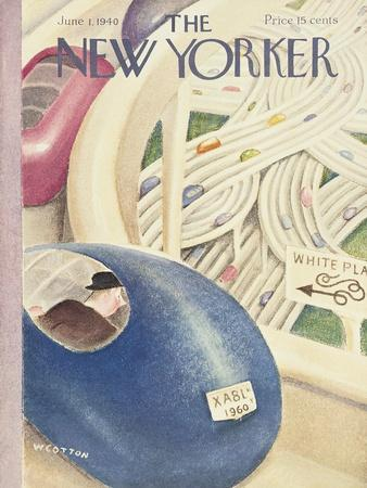 The New Yorker Cover - June 1, 1940
