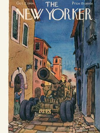 The New Yorker Cover - October 7, 1944