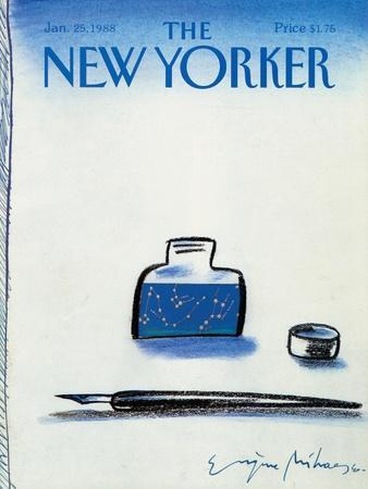 The New Yorker Cover - January 25, 1988