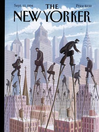 The New Yorker Cover - September 12, 1994