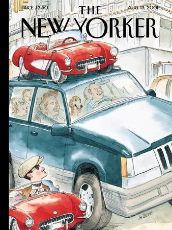 The New Yorker Cover - August 13, 2001
