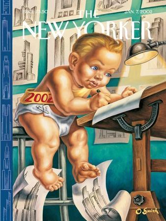The New Yorker Cover - January 7, 2002