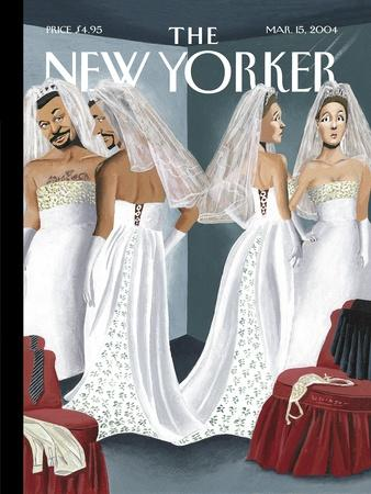 The New Yorker Cover - March 15, 2004