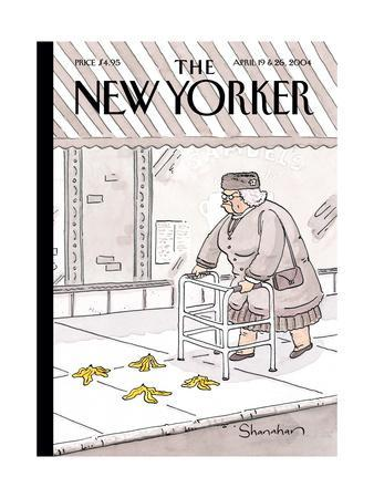 The New Yorker Cover - April 19, 2004