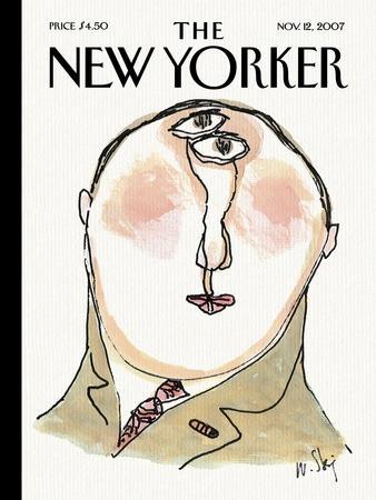 The New Yorker Cover - November 12, 2007