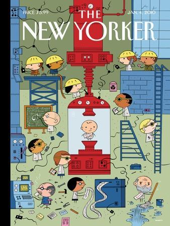 The New Yorker Cover - January 4, 2010