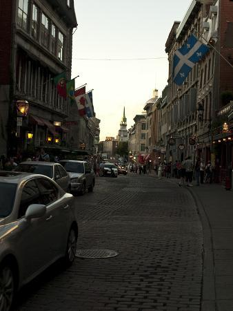 Street Scene in Old Montreal, Canada