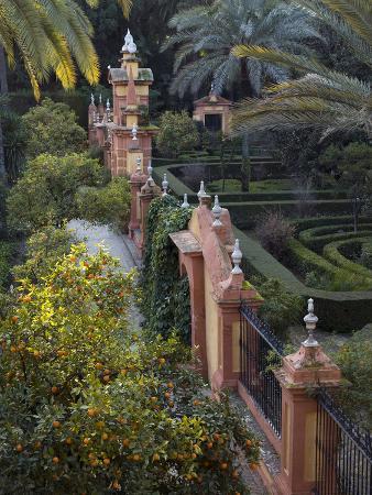 The Gardens of the Alcazar Palace, Seville