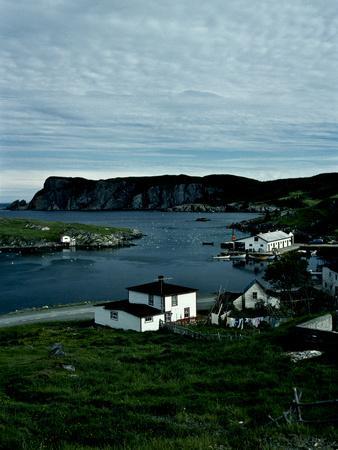 A Small Village on the Avalon Peninsula in Newfoundland, Canada