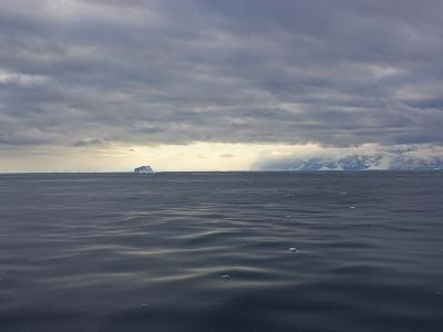 Heavy Clouds over the Ross Sea and Antarctica
