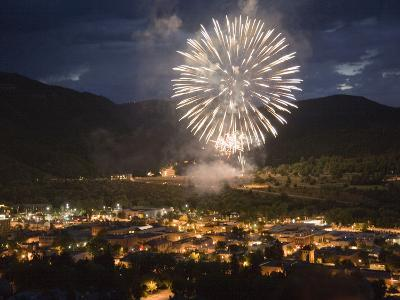 Fourth of July Fireworks in Durango, Colorado