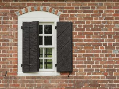 Window and Shutter of Historic Colonial Williamsburg Home