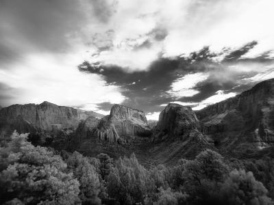 An Infrared Photograph of Kolob Canyon