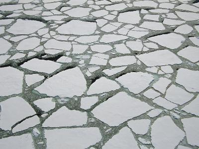 Heavy Pack Ice, Aerial View, Terre Adelie Land, East Antarctica