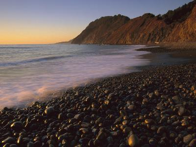 Lost Coast at Sunset, Jones Beach, Synkyone Wilderness State Park, California
