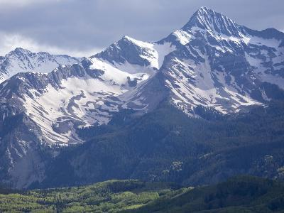 The San Miguel Range, Part of the San Juan Mountains Near Telluride