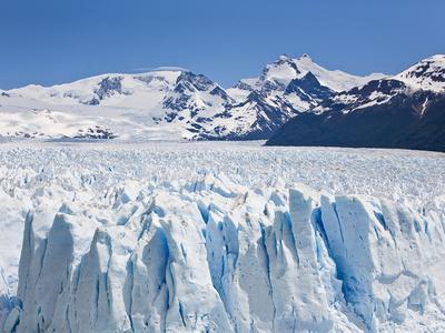 Massive Ice Towers on the Leading Edge of Perito Moreno Glacier