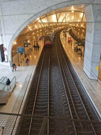 The Train Station in Monaco