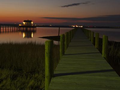 Docks at Chincoteague Island
