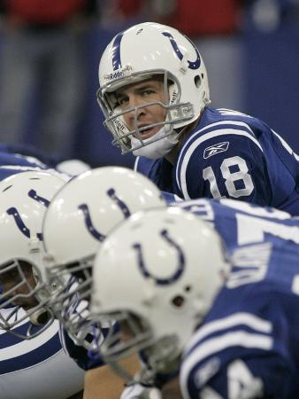 REDSKINS COLTS FOOTBALL: INDIANAPOLIS, IN - Peyton Manning