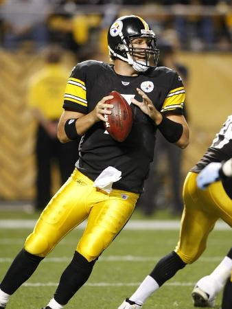 Titans Steelers Football: Pittsburgh, PA - Ben Roethlisberger