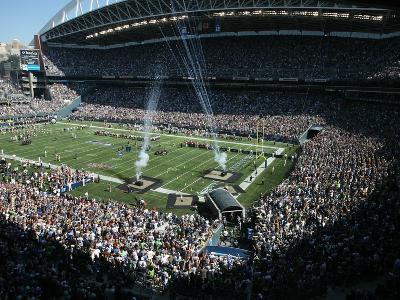 Rams Seahawks Football: Seattle, WA - CenturyLink Field