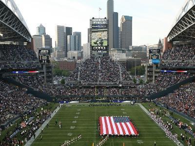 Seattle Seahawks--Qwest Field: Seattle, WASHINGTON - CenturyLink Field