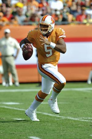 Packers Buccaneers Football: Tampa, FL - Josh Freeman