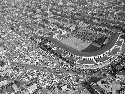 WRIGLEY FIELD: CHICAGO, ILLINOIS - The Bears at Wrigley Field