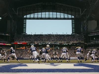 Eagles Colts Football: Cleveland, OHIO - Peyton Manning