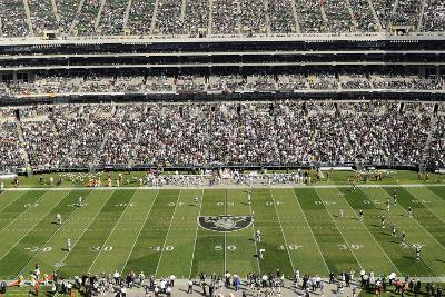 NFL Concept Shots and Isolated: ,  - Oakland Coliseum Panorama