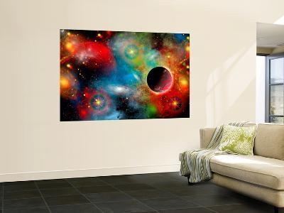 Artist's Concept Illustrating Our Beautiful Cosmic Universe