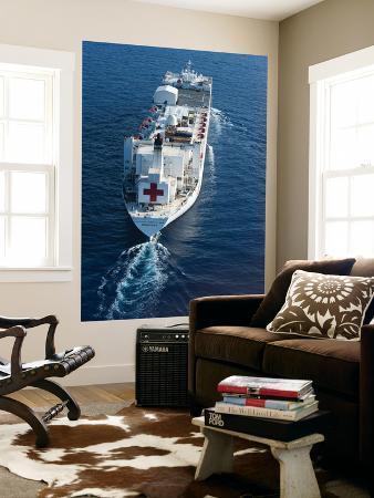 The Military Sealift Command Hospital Ship Usns Comfort