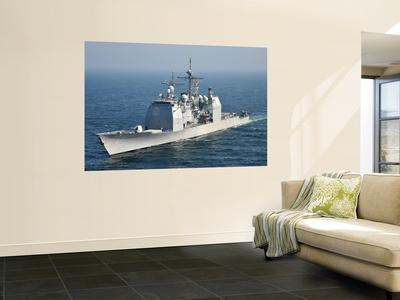 The Ticonderoga-Class Guided-Missile Cruiser Uss Shiloh