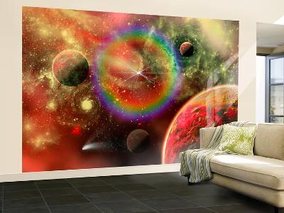 Artist's Concept Illustrating the Cosmic Beauty of the Universe