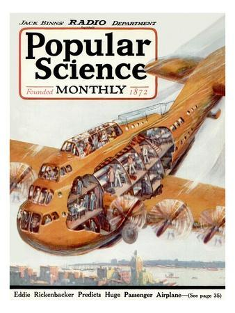 Front Cover Of Popular Science Magazine January 1 1920