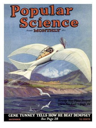 Front Cover of Popular Science Magazine: December 1, 1920