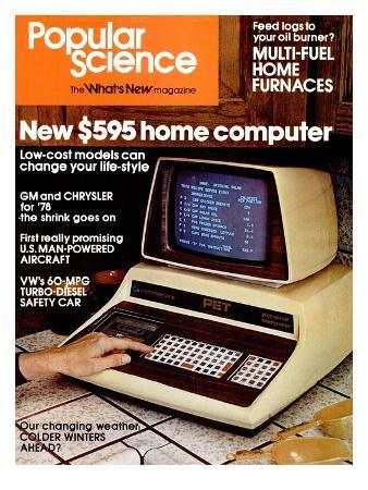 Front Cover of Popular Science Magazine: January 1, 1970