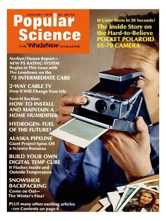 Front Cover of Popular Science Magazine: December 1, 1973