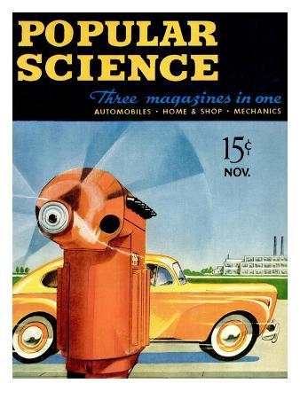 Front Cover of Popular Science Magazine: November 1, 1940
