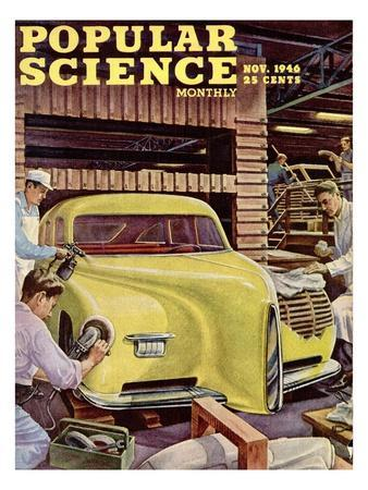 Front cover of Popular Science Magazine: November 1, 1946