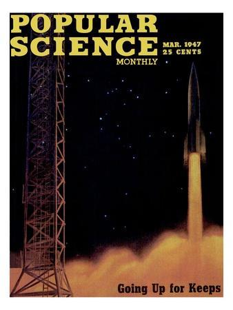 Front cover of Popular Science Magazine: March 1, 1947
