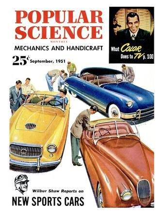 Front cover of Popular Science Magazine: September 1, 1951