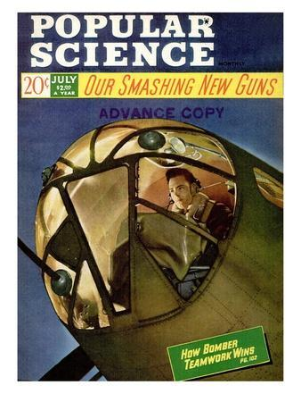 Front cover of Popular Science Magazine: July 1, 1940